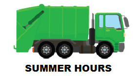 Summer Hours Sanitation