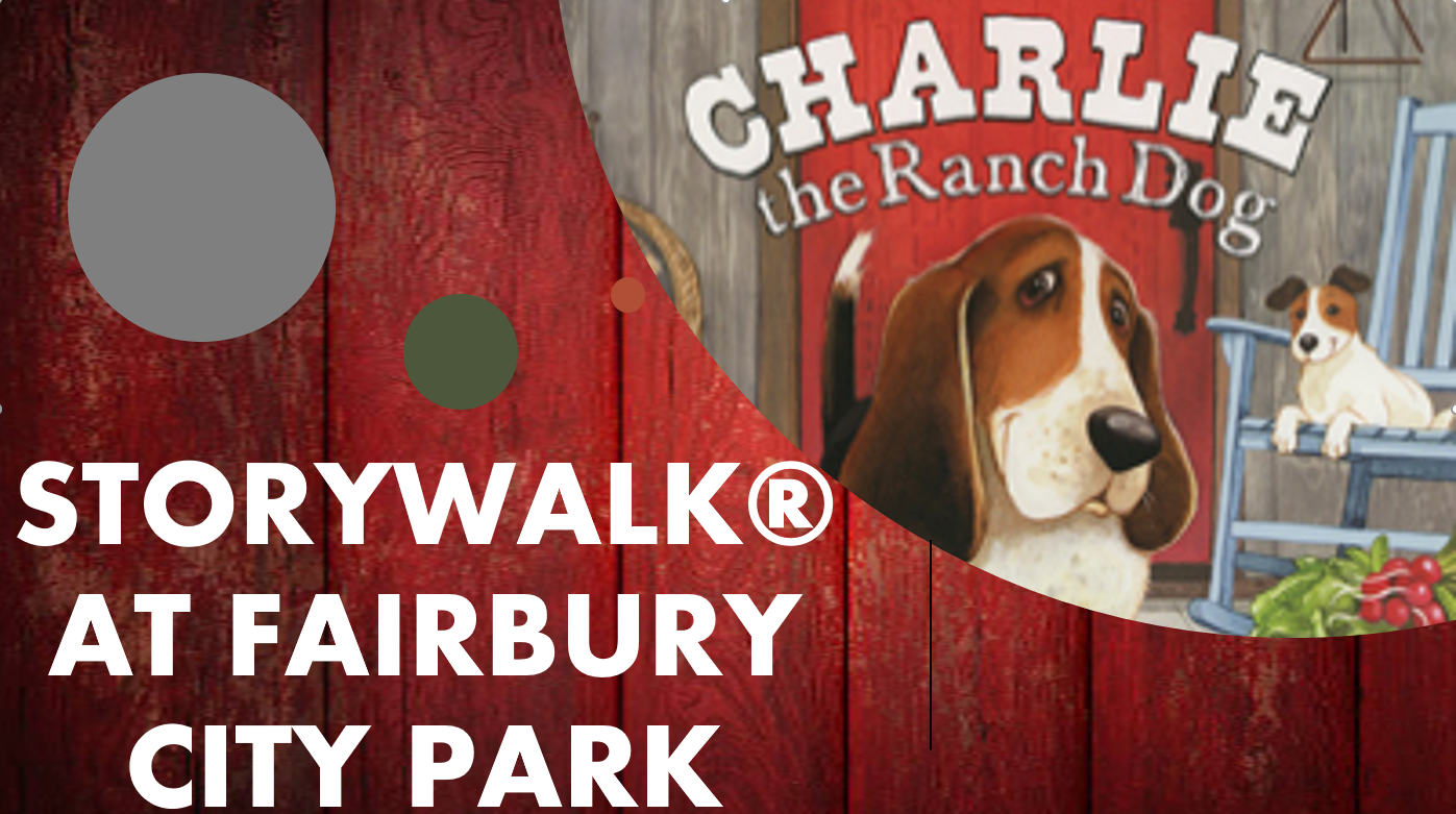 STORY WALK JULY 2019 CHARLIE THE RANCH DOG