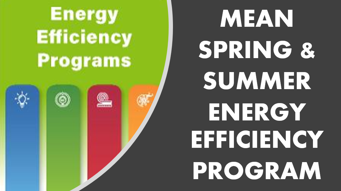 MEAN SPRING SUMMER ENERGY EFFICIENCY PROGRAM